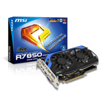MSI微星R7850 Power Edition 2GD5