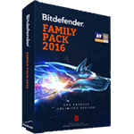 BitDefenderFamily Pack2016 家庭包 (英文版)