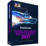 BitDefenderBitDefender Bitdefender Total Security Multi-Device 2017 多平台旗艦版 (英文版)
