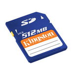 KingstonSD 512MB