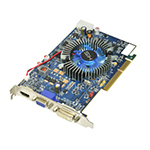 HISHIS HD 4650 Fan Native HDMI 1GB (128bit) DDR3 AGP (600Mhz Core/1.3Ghz Memory )