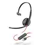 Plantronics_Plantronics Blackwire 3200 Series_視訊會議/監控安全>
