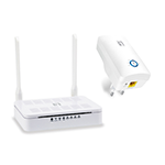 LevelOneAC1200 Dual Band Range Extension Wireless Starter Kit