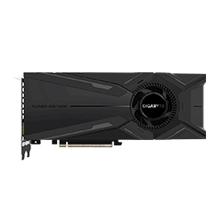 Gigabyte技嘉GIGABYTE GeForce RTX 2080 Ti TURBO OC 11G