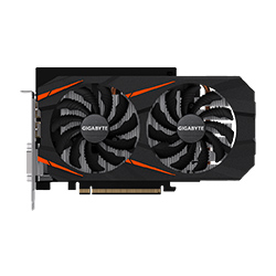Gigabyte技嘉GIGABYTE GeForce GTX 1060 WINDFORCE 2X OC D5X 6G