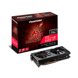 PowerColor 撼訊PowerColor Red Dragon RX5600XT 6GB GDDR6