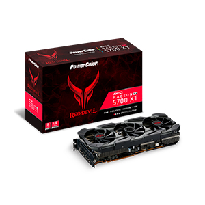 PowerColor 撼訊_PowerColor Red Devil Radeon RX 5700 XT 8GB GDDR6 (AXRX 5700 XT 8GBD6-3DHE/OC)_高階主板顯卡Raid卡>