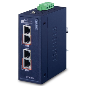 PLANET_Planet  Industrial  POE SWITCH   IPOE-270-12V_網路設備/頻寬管理>