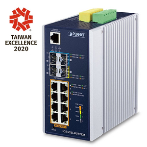 PLANET_Planet  Industrial  POE SWITCH   IGS-6325-8UP2S2X_網路設備/頻寬管理>