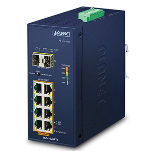 PLANET_Planet  Industrial  POE SWITCH    IGS-1020PTF_網路設備/頻寬管理>