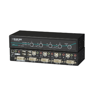 BLACK BOXBLACK BOX DT Series Desktop KVM Switch KV9604A