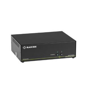 BLACK BOXBLACK BOX Secure NIAP 3.0 Dual-Head KVM Switch  SS2P-DH-DVI-UCAC