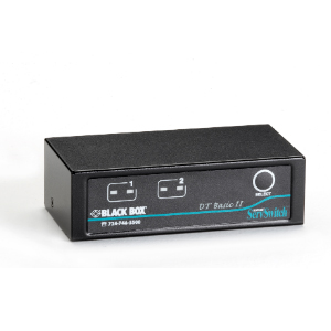 BLACK BOXBLACK BOX DT Basic II Desktop KVM Switch KV7022A