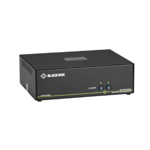 BLACK BOXBLACK BOX Secure NIAP 3.0 Dual-Head 4K HDMI USB KVM Switch  SS2P-DH-HDMI-U