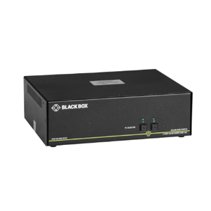 BLACK BOXBLACK BOX Secure NIAP 3.0 KVM Switch SS2P-SH-DVI-U
