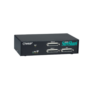 BLACK BOXBLACK BOX SERVSHARE Reverse KVM Switch KV752A